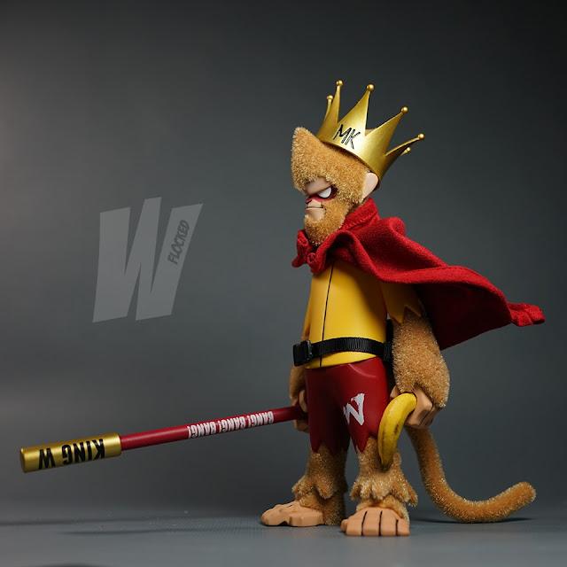 "T9G  Sofubi Monkey King Gold 5/"" Figure Sofvi"