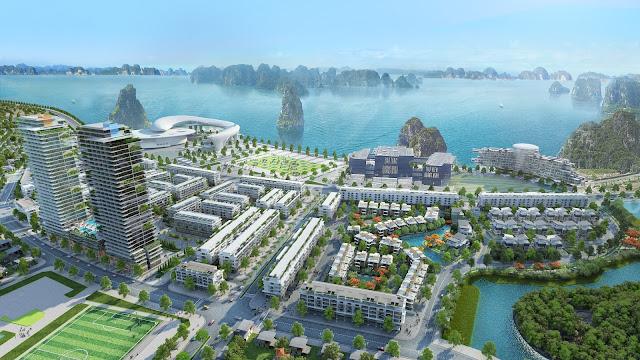 Phối cảnh Mon Bay Hạ Long