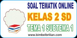 Soal Online K13 Kelas 2 SD Tema 1 Subtema 1 Hidup Rukun Di Rumah - Langsung Ada Nilainya