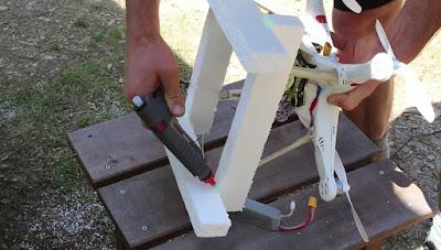 Cara Membuat Pelampung Drone menggunakan Styrofoam - OmahDrones