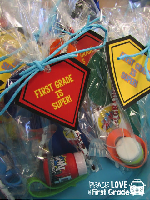 Back to School Student gift bag for Meet the Teacher and Open House.