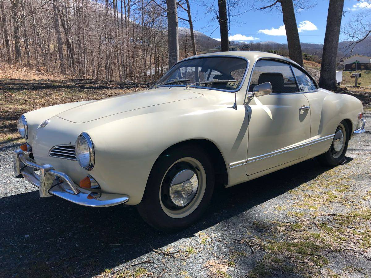Not Another Beetle: 1969 Volkswagen Karmann Ghia Type 14
