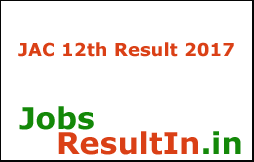 JAC 12th Result 2017