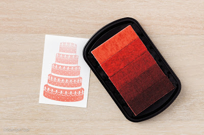 Calypso Coral Ombre Stamp Pad, Stampin' Up!