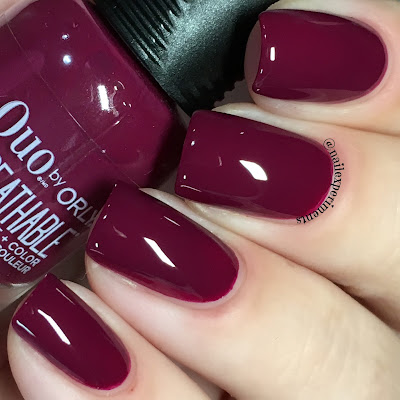 orly the antidote swatch