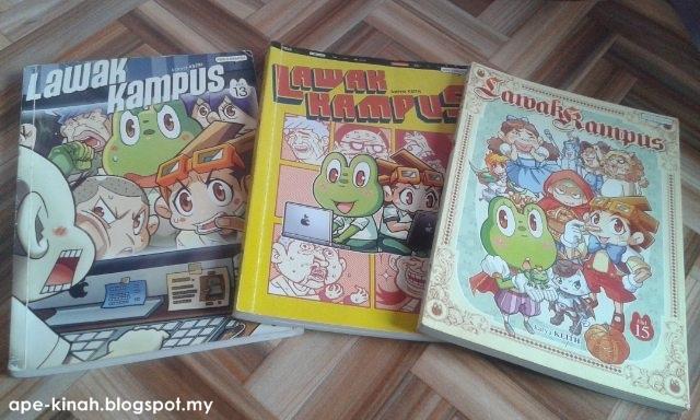 Hadiah Giveaway Preloved Comic Dah Sampai