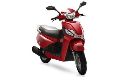 New 2016 Mahindra Gusto 110 Special Edition front HD Images