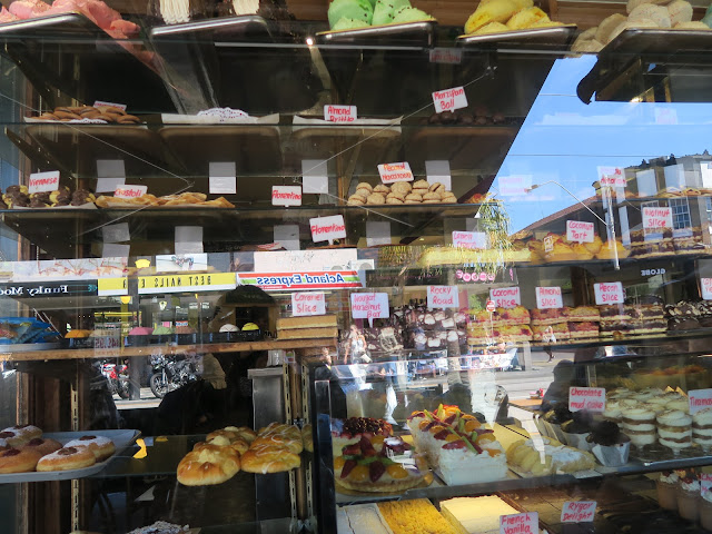 Pastries, St Kilda's beach, Melbourne