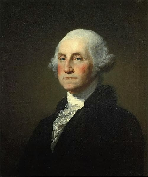 George Washington by Gilbert Stuart, 1797