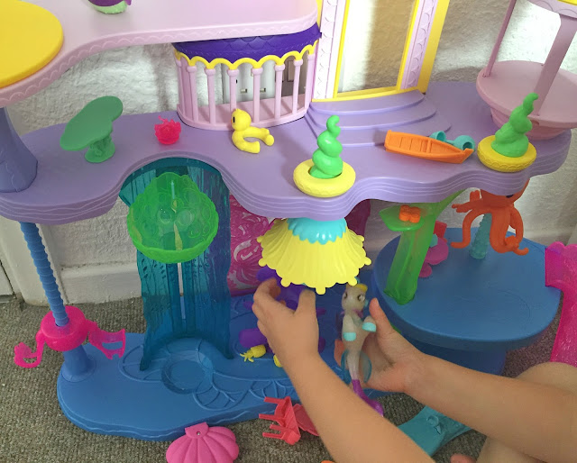 My little pony castle in use