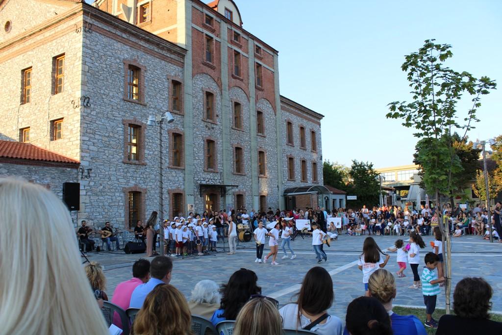 """Εκδήλωση λήξης προγράμματος """"Κατασκήνωση στην Πόλη"""" στη Λάρισα"""