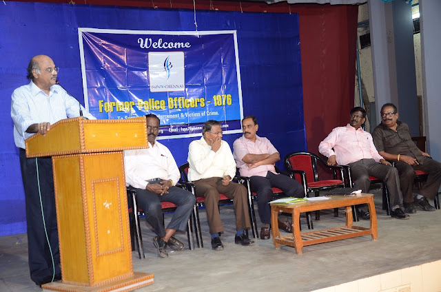 Prime Point Srinivasan speaking on 'Community Policing'