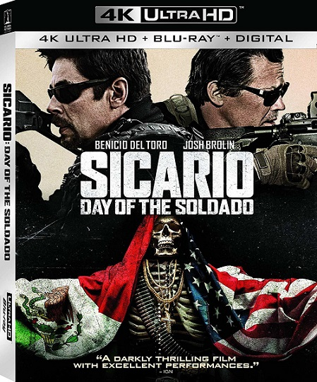 Sicario: Day of The Soldado 4K (Sicario: El día del soldado 4K) (2018) 2160p 4K UltraHD HDR BluRay REMUX 50GB mkv Dual Audio Dolby TrueHD ATMOS 7.1 ch