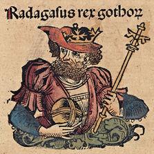 Ragnar Lodbrok según las crónicas de Nuremberg