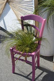 Déco chaise de jardin