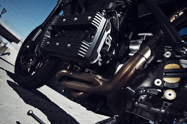 BMW K75 độ Cafe Racer kết hợp Street Fighter