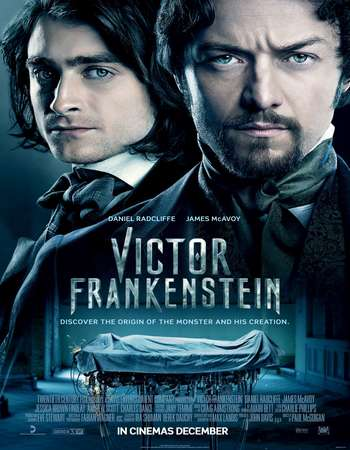Poster Of Victor Frankenstein 2015 English 450MB BluRay 720p ESubs HEVC Free Download Watch Online Downloadhub.Net