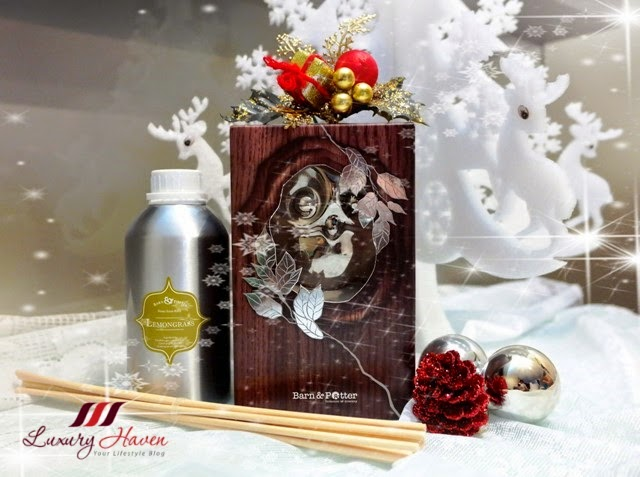 mt sapola christmas owl gift set ceramic diffuser