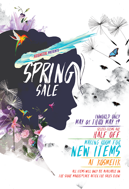 .kosmetik Spring Sale Ends May 19