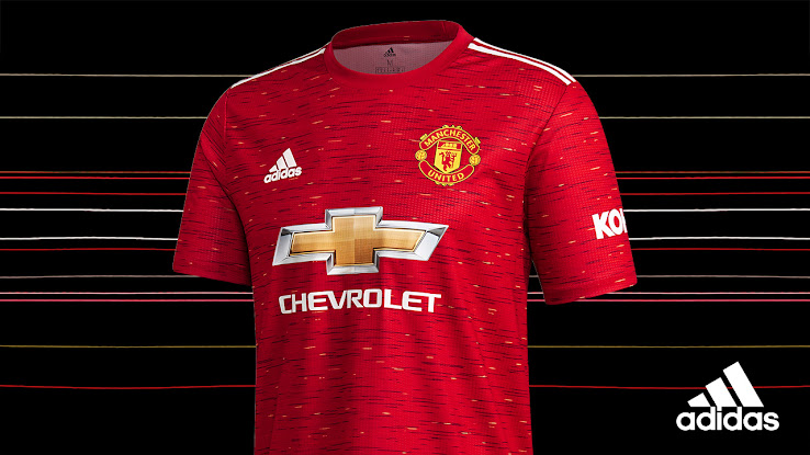 Adidas Manchester United 20 21 Home Kit Inspired By Yarns Of Club Crest Footy Headlines