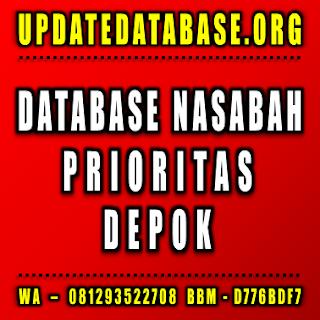Jual Database Nasabah Prioritas Depok