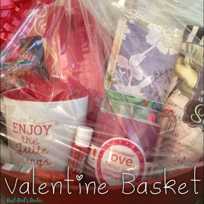Spread some love with Valentine's Gift Baskets.