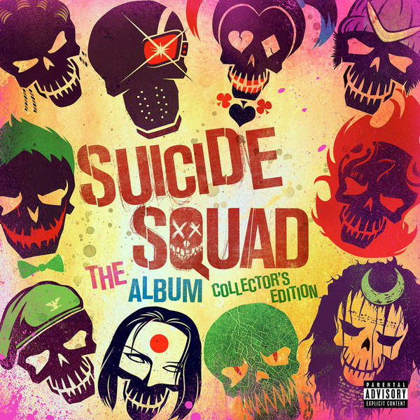 Various Artists - Suicide Squad: The Album (Collector's Edition) Cover