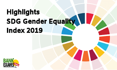 SDG Gender Equality Index 2019: Highlights