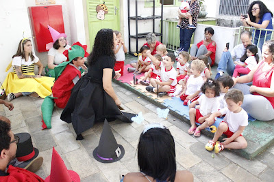 Incentivo à leitura marca visita da Biblioteca Infantil a crianças da creche CPRM