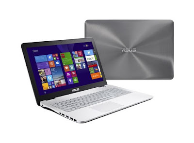 Spesifikasi Harga Laptop/Notebook ASUS N550ZU Terbaru 2016
