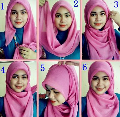 tampil elegan dengan tutorial hijab modern untuk ibu menyusui