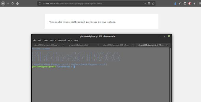 Mengatasi The Upload_max_filesize di CMS Wordpress dengan Server GNU/Linux