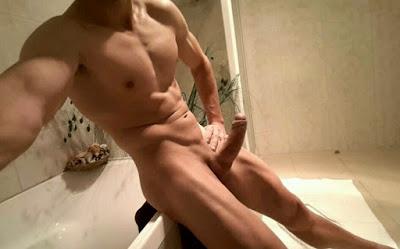 Big Beautiful Cock Huge Dick Hot Penis Hard Giant Thick Fat Veiny Man Men Naked RobotJack Robot Jack TheWouldBeSlut
