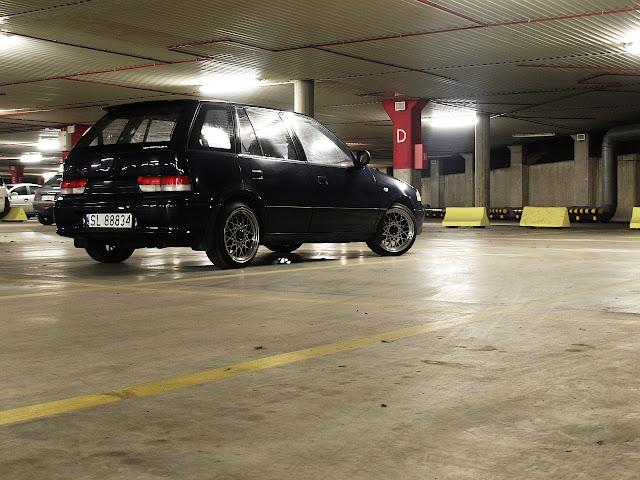 Suzuki Swift II, Subaru Justy II