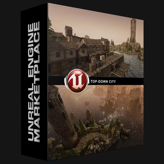 Unreal Engine 4 Marketplace – Top-Down City - Unreal - TUTORIALS