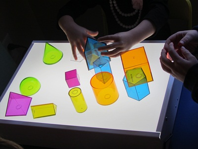 museum notes : light table explorations