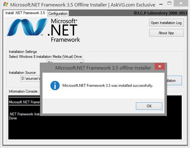 Как установить. Net framework 3. 5 на windows 8/8. 1? [ошибка.