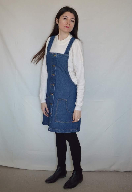 denim dress02 DENIM DRESS