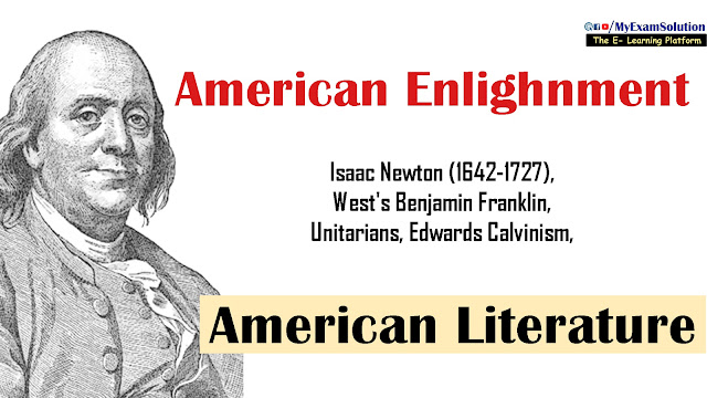 amercian literature, american revolution, english literature, ugc net notes in english