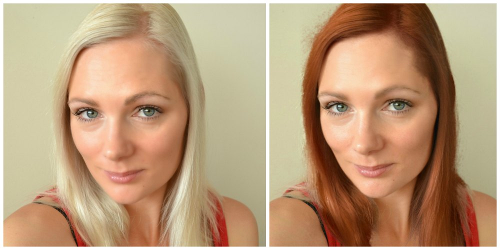 red or blonde