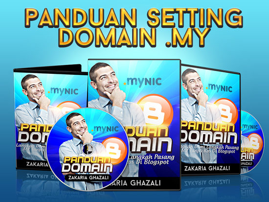 panduan setting domain dot MY