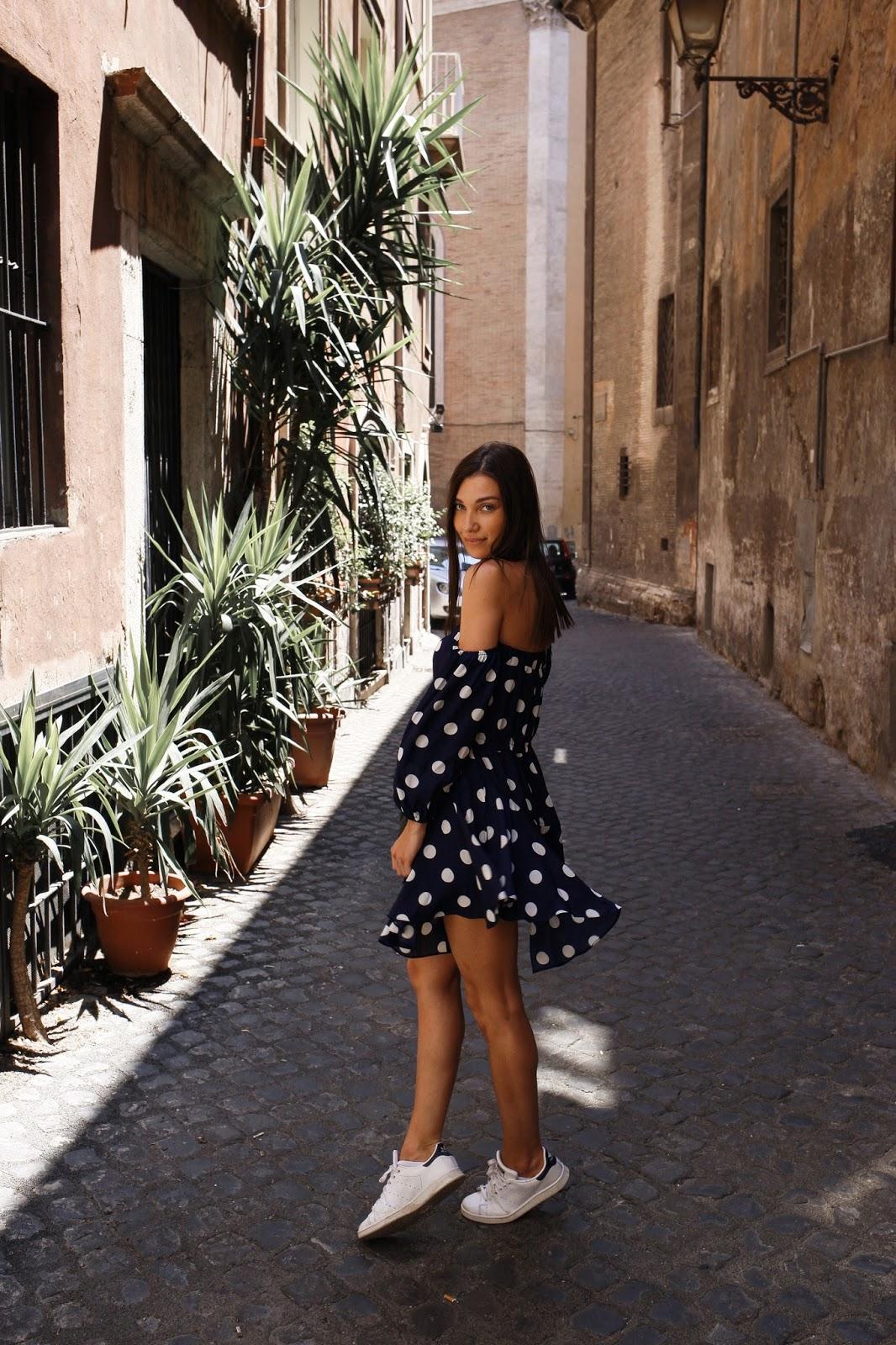 maeva Dck, robe d'été, asos, boohoo, rome