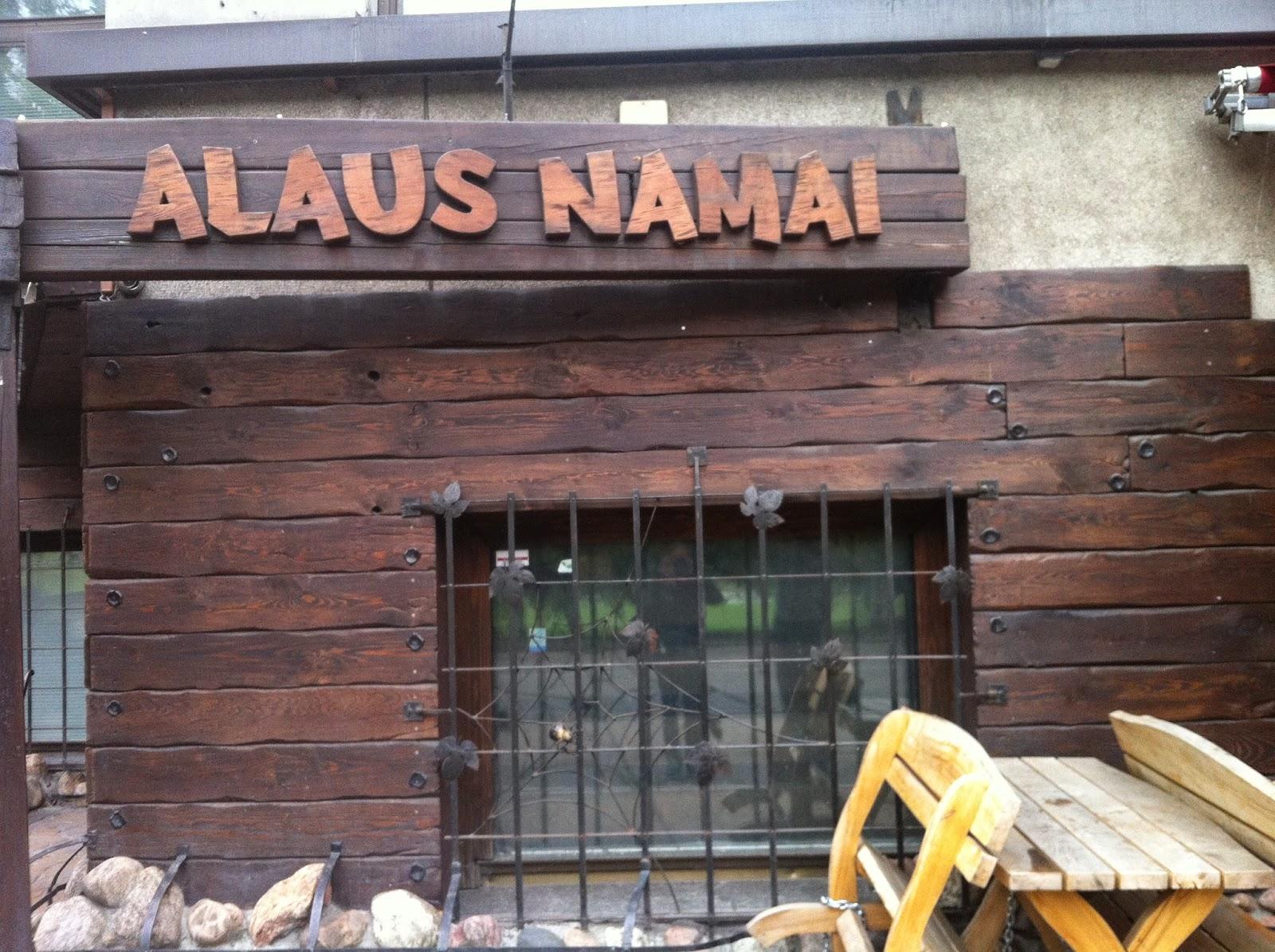 Alaus Namai bar in Vilnius