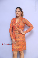 Actress Mumtaz Sorcar Stills in Short Dress at Guru Movie Success meet  0080.JPG