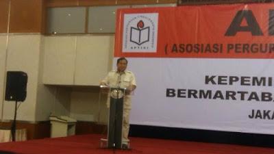 Prabowo Subianto: Ekonomi Neoliberal Hanya Melahirkan Pemimpin tak Bermartabat dan Berkeadilan