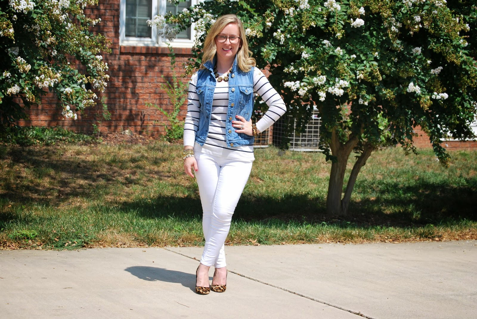 JCrew, Gap White Denim, Ann Taylor