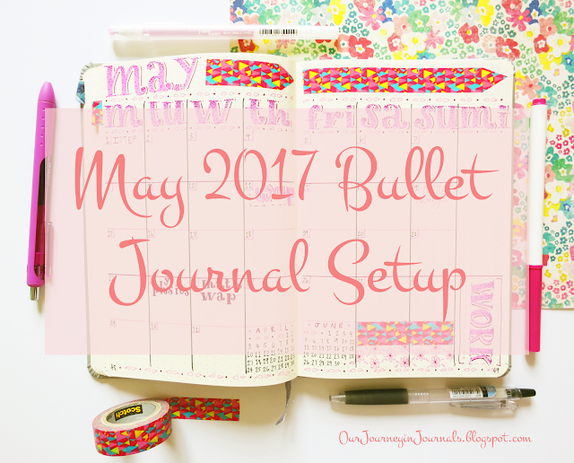 may 2017 bullet journal setup