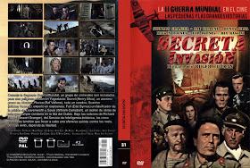 Cover, dvd, carátula: Secreta Invasión | 1964 | The Secret Invasion