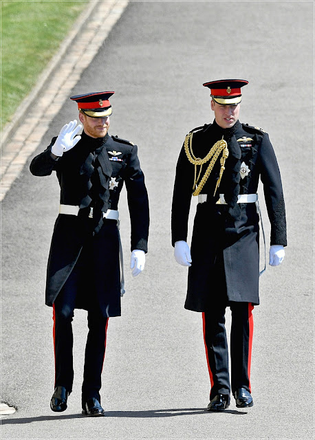 Harry i William Windsor