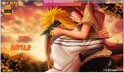 Naruto Senki Legend Mod Offline Screenshot